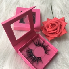 Pink square case lashes deal (1-1000pcs)
