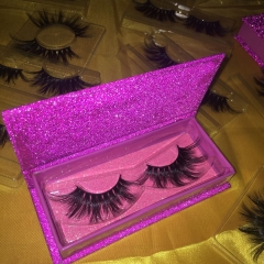 Purple rectangle case lashes deal (1-1000pcs)