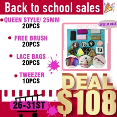 Black Friday Special, 20pcs Only for $108!!! Order 2 deals can print logo on box!